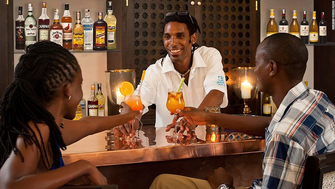 <strong>Long Bar & Star Lounge (Watamu): </strong>The two bars in the Medina Palms resort boast a long and sumptuous cocktail menu including some homegrown concoctions like the Dawa (vodka, honey and lime) and East Coast Cooler (Wild Turkey, maple syrup and fresh lime).
