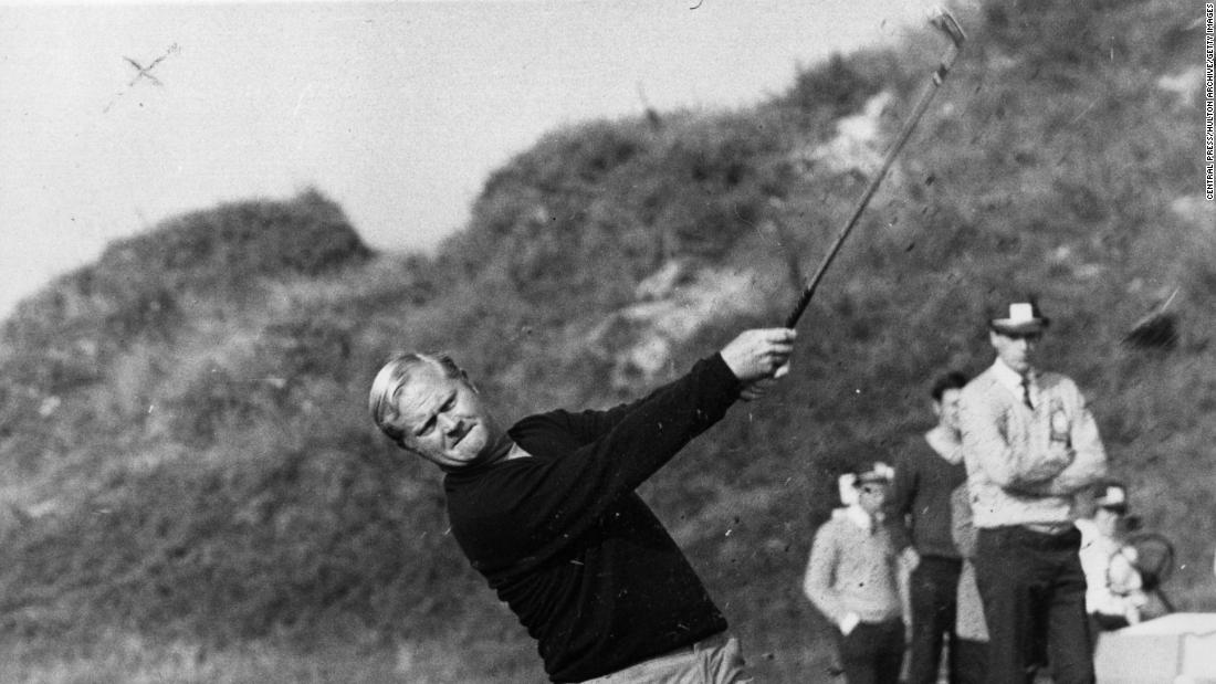 He turned pro at the age of 21 in 1961 and won his first title in the paid ranks at the 1962 US Open, beating Palmer in an 18-hole play-off. So began one of golf's greatest rivalries as as this young upstart threatened to usurp the hero of Arnie's Army.