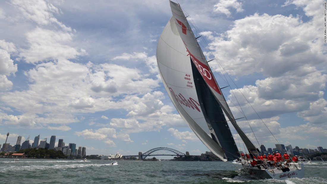 Australian supermaxi yacht Wild Oats XI has crossed the line first on a record eight occasions, dominating proceedings since her first entry in 2005.