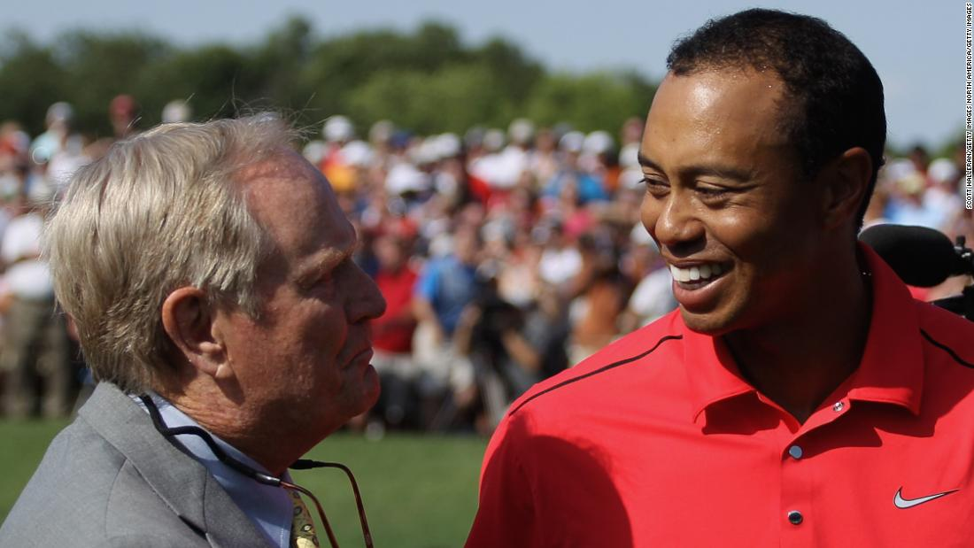 Since Tiger Woods burst onto the scene with his first major title at the Masters in 1997 he has chased Nicklaus' major mark. But Woods has been stranded on 14 victories since 2008.