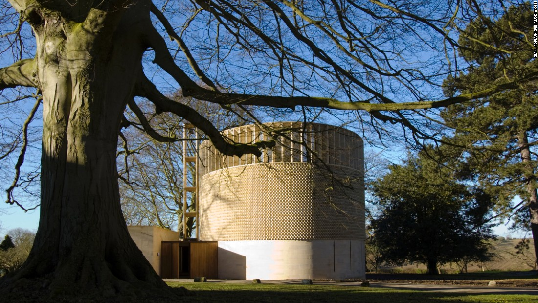 The Bishop Edward King Chapel at Ripon Theological College at Cuddesdon, Oxfordshire is a new religious building for the Church of England, embracing nature and religion.