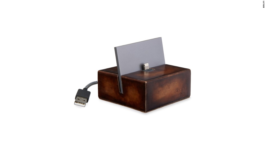 Luxury leather goods maker Berluti has collaborated with Hong Kong-based tech accessories start up Native Union on a leather iPhone charging dock. The dock is made of Venezia leather and priced at $420.