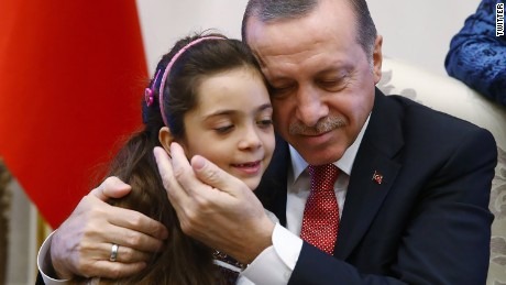 Bana meets Turkey's President Erdogan