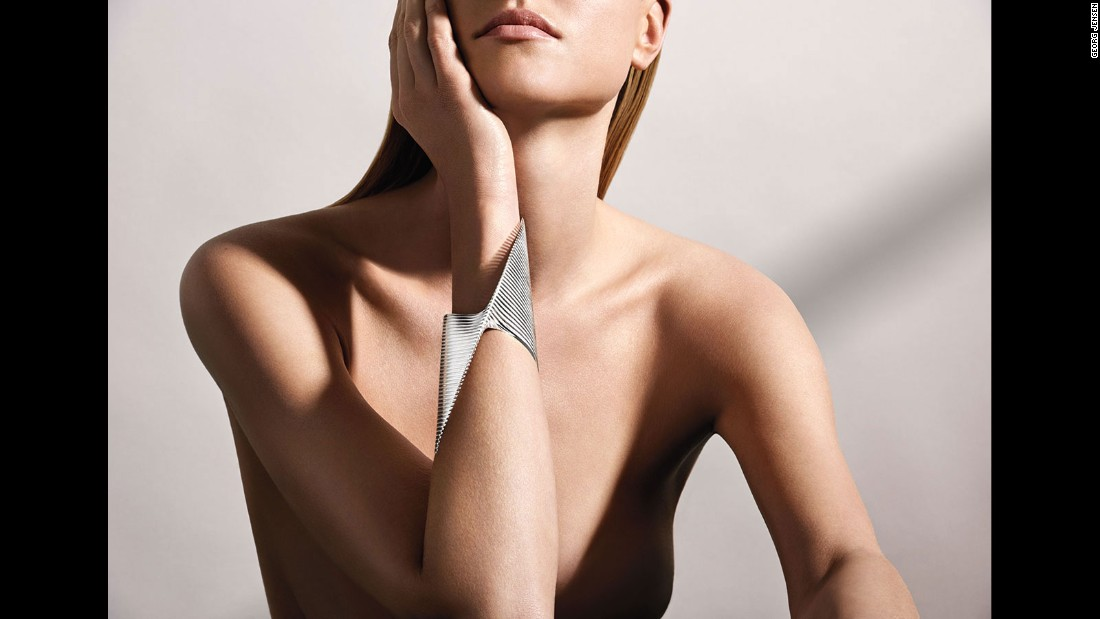 "This year, jewelry house Georg Jensen revealed its collaboration with the late architect Zaha Hadid: The <a href=""http://www.georgjensen.com/en-au/jewellery/lamellae"" target=""_blank"">Lamelle</a> Collection. The collection was first shown at Baselworld in Switzerland. It includes bracelets and rings, all of which are inspired by Hadid's signature design curves. Items from the collection start at $890, and a special edition bracelet, plated with rhodium and fitted with black diamonds, is listed on the website for $44,400."