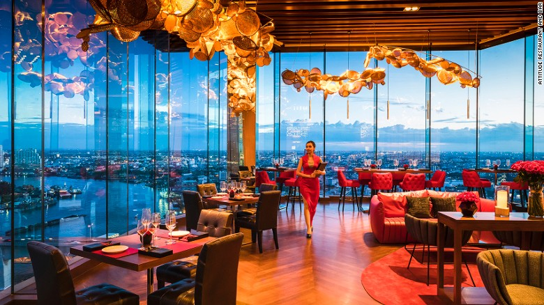 <strong>Attitude, Bangkok, Thailand:</strong> Sitting on the 26th floor of the new Avani hotel, Attitude is the latest Bangkok restaurant to bring together great views and great food.