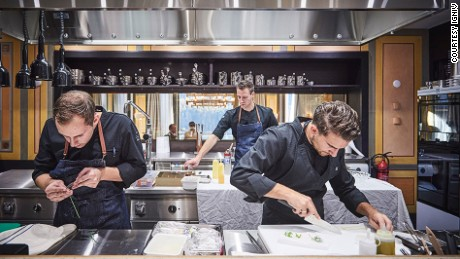 Swiss chef Andreas Caminada heads the kitchen at IGNIV.