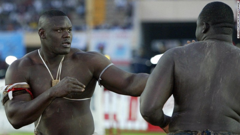 Move over WWE - This is Senegalese wrestling