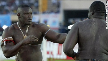 Senegalese wrestling: Grappling in the land of giants
