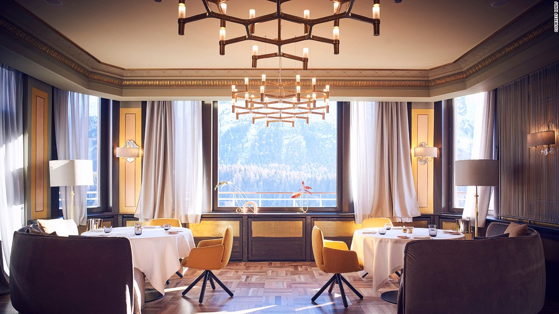 <strong>IGNIV, St Moritz, Switzerland:</strong> Despite the fine-dining setting, its vibe is unpretentious. Platters of food are passed around the table, family style.
