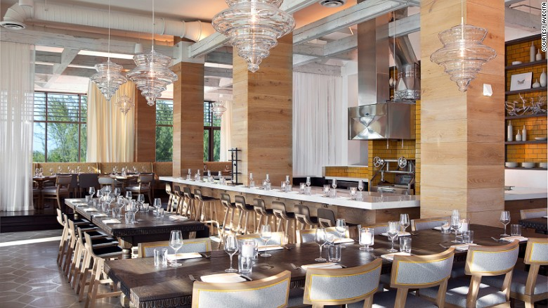 <strong>Avecita, Kimpton Seafire, Grand Cayman: </strong>Avecita is a 10-seat chef's bar -- inside the resort's main restaurant -- that offers a tasting experience of about 15 small plates created in front of guests.