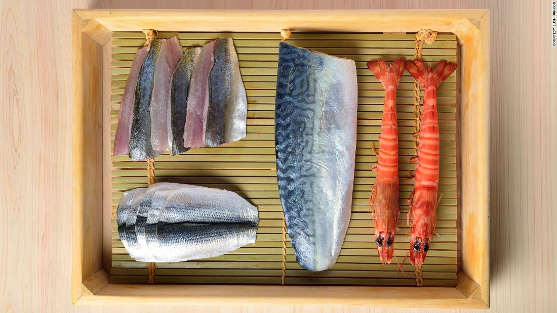 "<strong>Sushi Wakon, Kyoto, Japan: </strong>Helmed by Rei Masuda, Jiro Ono's 36-year-old protege and master of seasoning, Sushi Wakon at The Four Seasons Kyoto promises diners a ""quintessential Ginza sushi experience."""