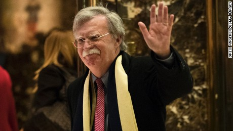 Cruz calls for John Bolton as security adviser