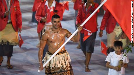 From sand to snow for Pita Taufatofua