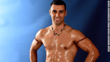Pita Taufatofua on his Pyeongchang 2018 hopes