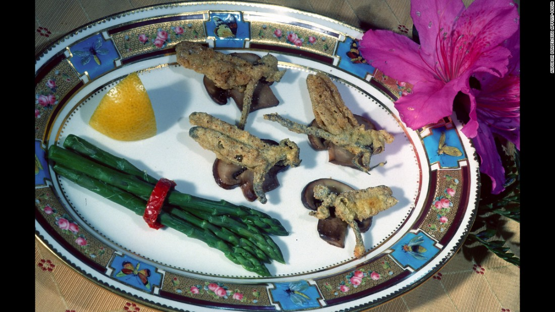 "<strong><br />Pictured</strong>: Fried dragonflies over mushrooms from Audubon's, Bug Appetit Eatery. <br /><br />Dragonflies are listed as some of the most eaten insects worldwide by the Food and Agriculture Organization (FAO).<br />Frying dragonflies may not be healthier than frying dough, but it is much better for the environment.<br /><br />""Virtually all agro-ecosytems benefit from insects because they can naturally control harmful pest species,"" reads the FAO's latest report on Edible Insects.<br />"