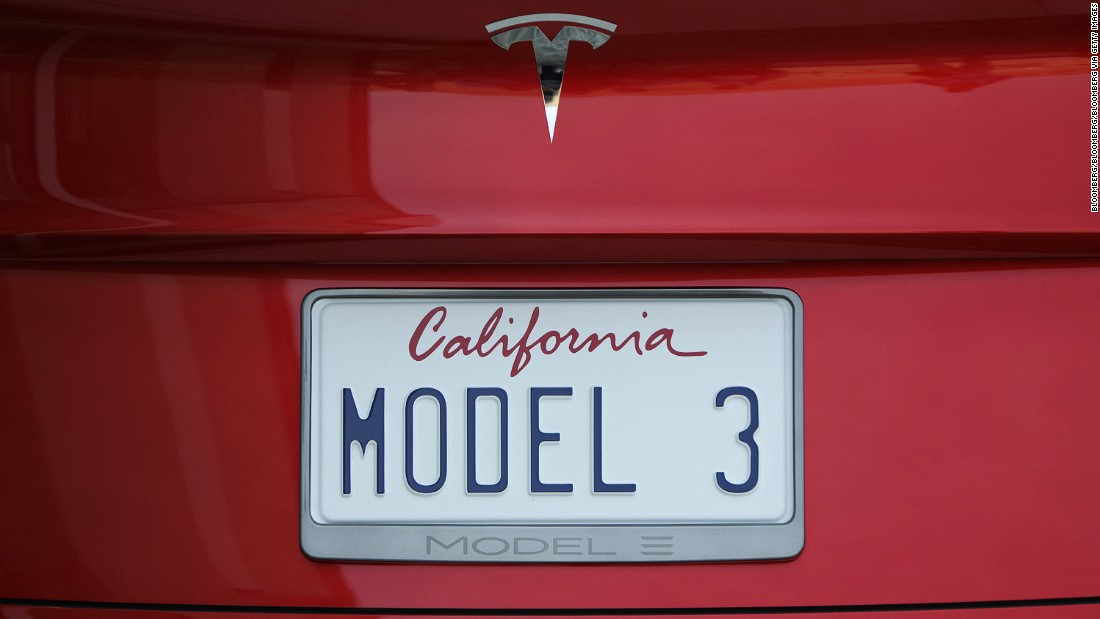 "<a href=""https://www.tesla.com/en_GB/model3"" target=""_blank"">Tesla</a> has received more than 350,000 pre-orders for its new Model 3 and expects to start <a href=""http://money.cnn.com/2016/12/13/technology/chevy-bolt-tesla-launch/"">delivering the $35,000 car</a> to customers in 2017."
