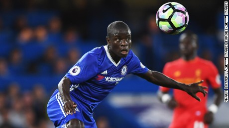 N'Golo Kante: English football's most effective player?