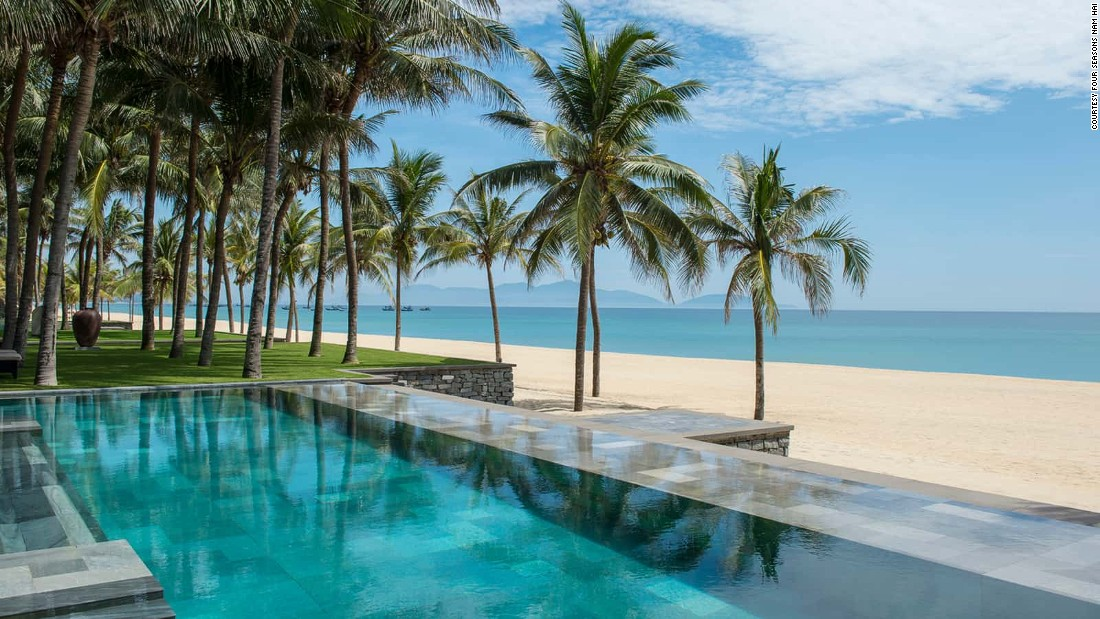 <strong>Four Seasons Resort The Nam Hai, Hoi An, Vietnam:</strong> Set on a half-mile stretch of private beachfront near several UNESCO World Heritage Sites, the Four Seasons' latest resort has the best address in Hoi An.