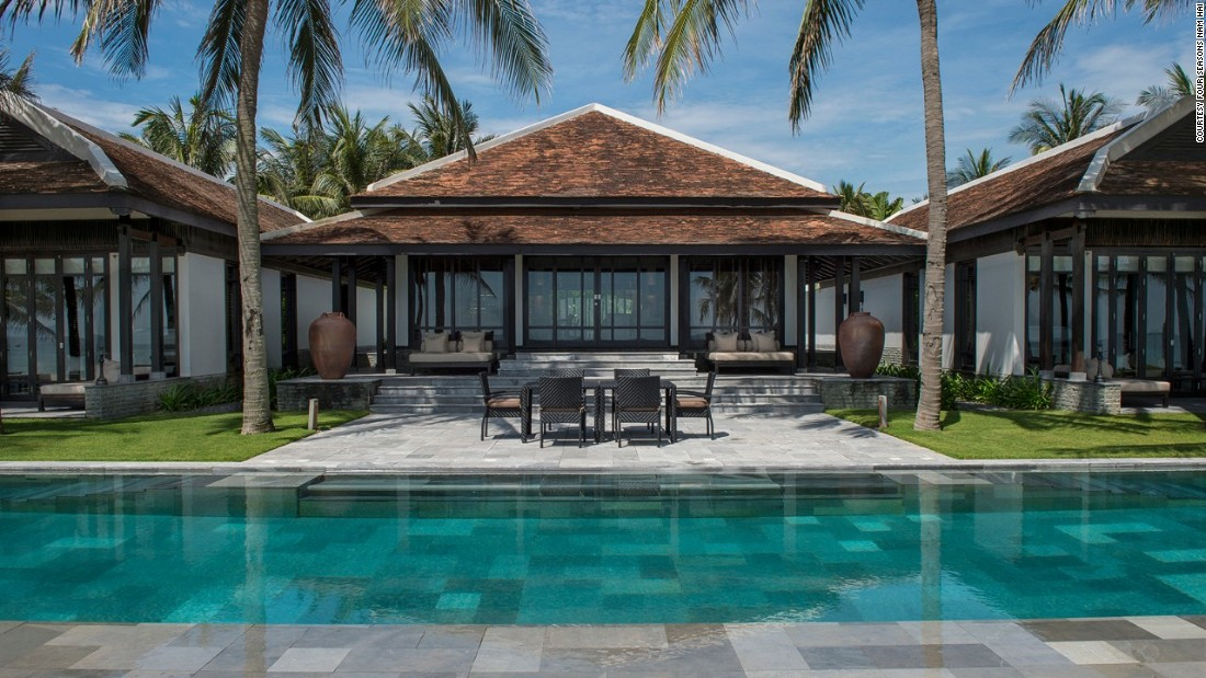 <strong>Four Seasons Resort The Nam Hai, Hoi An, Vietnam: </strong>There are 40 pool villas, each with their own private swimming pool.