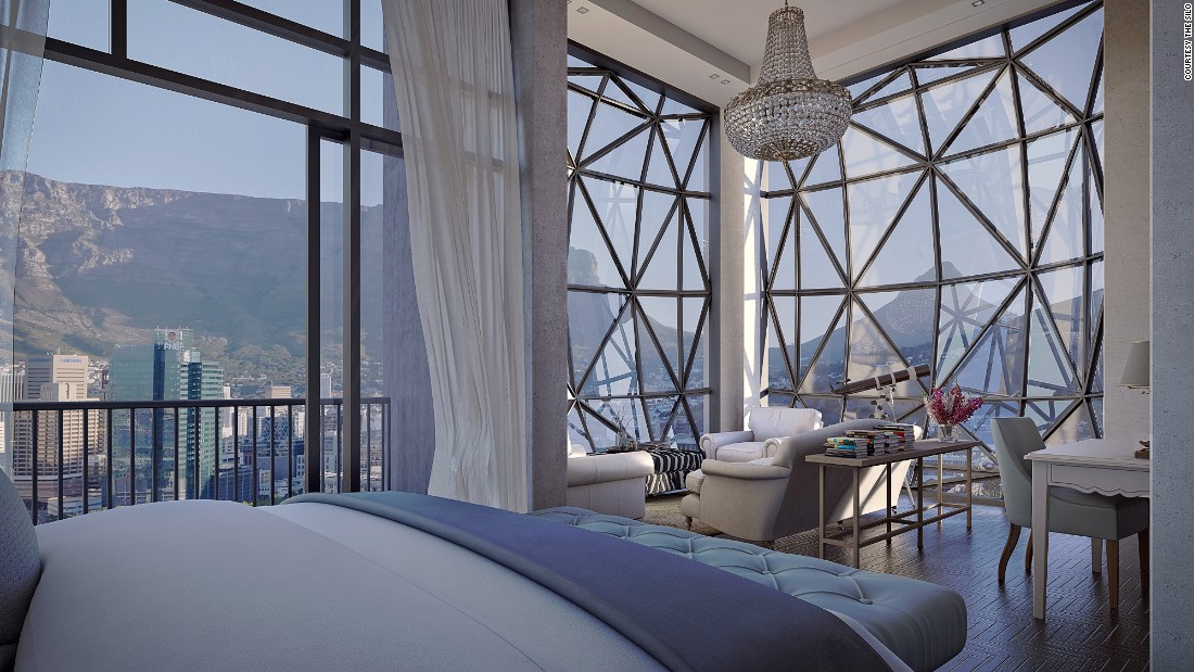 <strong>The Silo, Cape Town, South Africa:</strong> The ultramodern, industrial-style hotel will have only 28 rooms, each with whimsical interiors and dramatic waterfront views.
