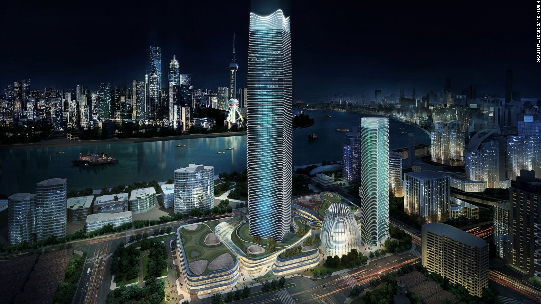 <strong>W Shanghai: </strong>Perched on the banks of the Huangpu River, this ultra hip hotel will be Starwood Hotels' third W-branded property in China, after Beijing and Guangzhou.