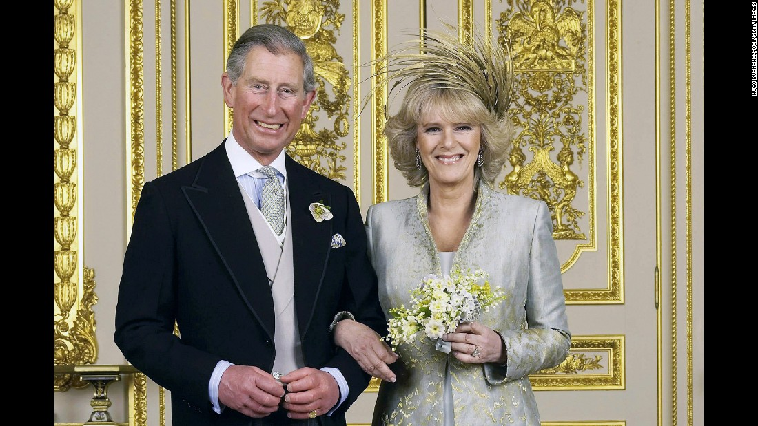 Prince Charles married Parker-Bowles in April 2005.