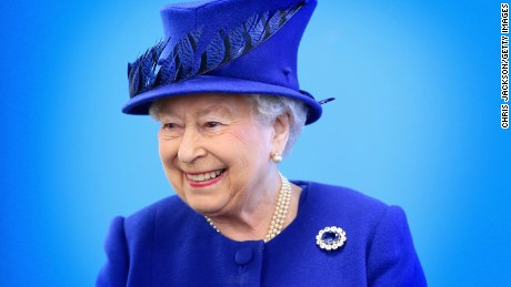LONDON, ENGLAND - MARCH 08:  Queen Elizabeth II  smiles as she meets people being helped by the Prince's Trust at the Prince's Trust Centre in Kennington on March 8, 2016 in London, England. The Queen was visiting the Centre with Prince Charles, Prince of Wales to mark the 40th Anniversary of the Prince's Trust. TRH's saw the impact the Prince's Trust has on young people and heard about the six  programmes run by the Trust to help disadvantaged young people ages 13 to 30 to get into education and employment.  (Photo by Chris Jackson/Getty Images)