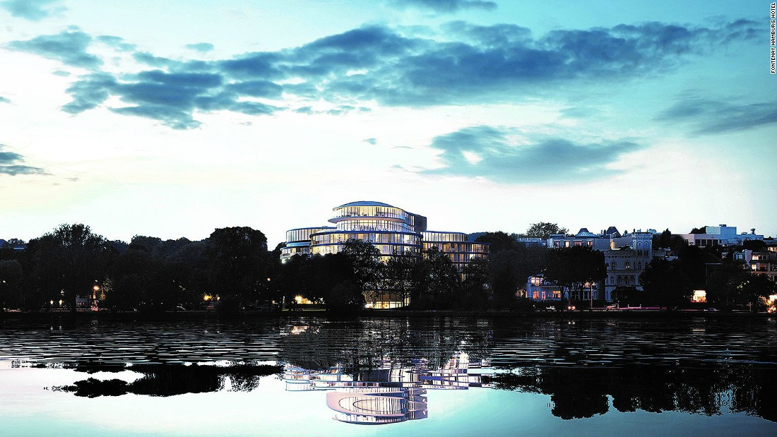 <strong>Fontenay Hamburg Hotel, Germany: </strong>Set on the tranquil banks of Lake Alster, The Fontenay will be the first new luxury hotel in Hamburg in 18 years.