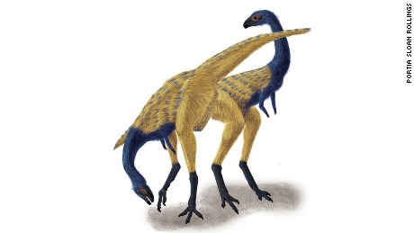 An artist impression of the Limusaurus