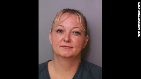 Tammy Strickland is accused of using fake names to collect 'Toys for Tots' donations.