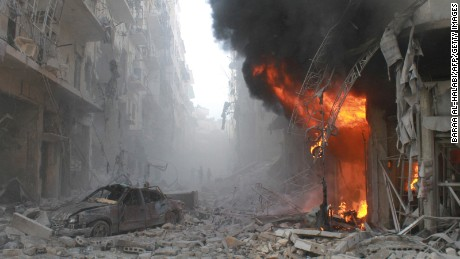Syria's war has raged for more than four years and killed an estimated 400,000 people.