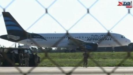 Algerian plane Malta