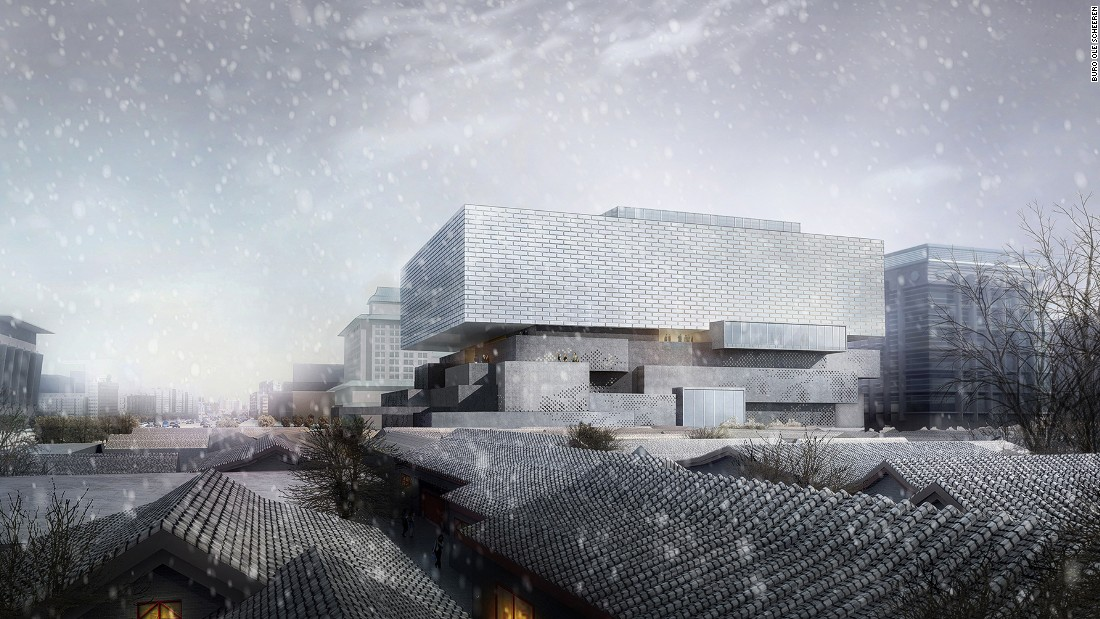 The Forbidden City is about to get a new neighbor. Sitting next to the old-world architecture of central Beijing, the 68,027-square-foot Guardian Art Center plans to unveil a completely new look thanks to international architecture firm Büro Ole Scheeren.