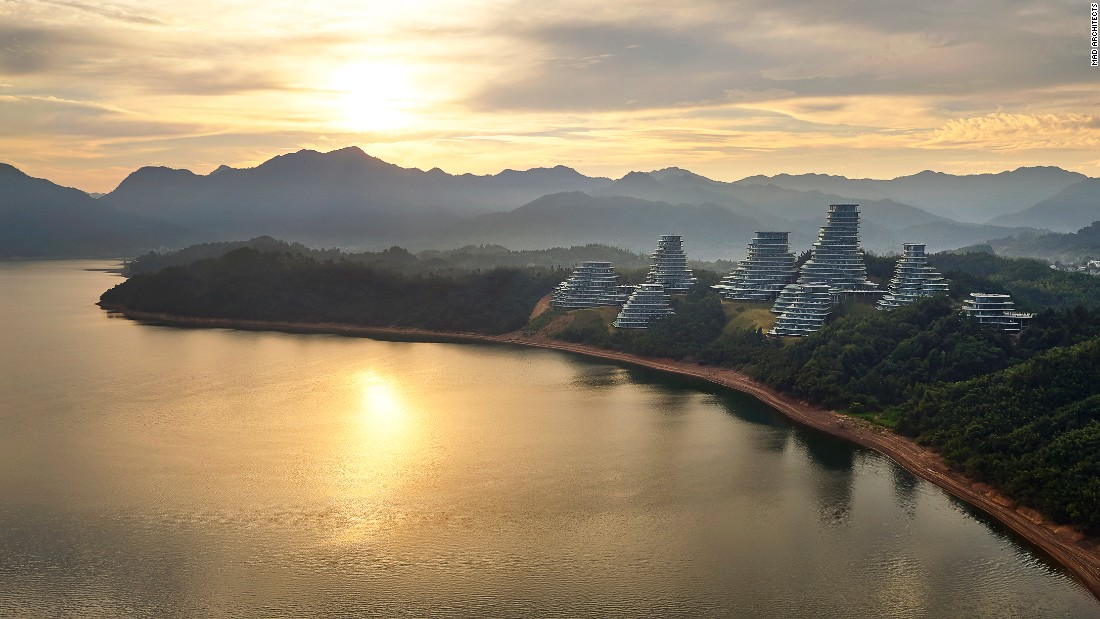 The ambitious project aims to mimic the local topography of the iconic mountainous region and bring Huangshan into the fold of contemporary society.