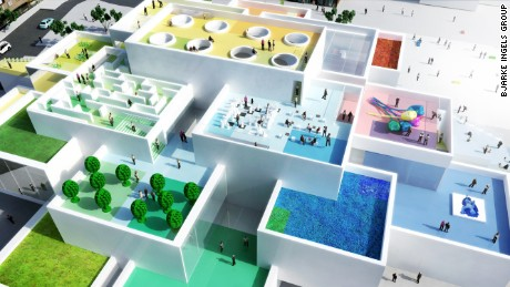 Another architectural marvel from Bjarke Ingels Group, the LEGO House takes its mission seriously. The team set out to design a building based on the possibilities of these beloved childhood building blocks. The one-of-a-kind building used extra-large LEGO-inspired bricks for the foundation, and created interlocking levels in a modular design.
