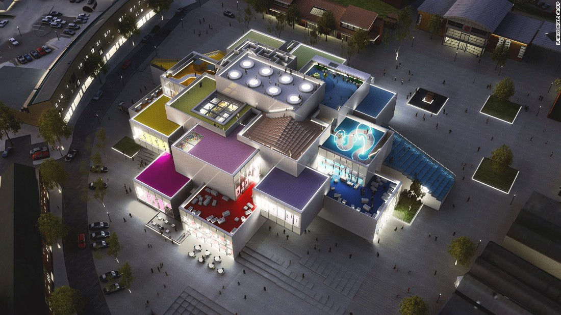 When finished, the LEGO House aims to be an experiential community center where visitors can enjoy a cafe, family-friendly playgrounds, a public square, and of course, a LEGO store.