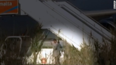 Malta plane hijack surrender update lee lkl_00004812