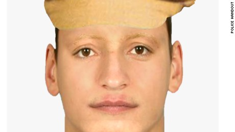 Handout from Czech police of an identikit of the man alleged to have attacked Kvitova on December 20.