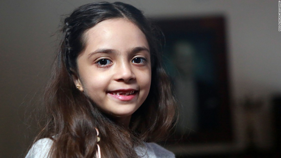 Seven-year-old Bana al-Abed, through her plaintive messages on Twitter, helped tell the world heartbreaking truths about life in the besieged city of Aleppo.