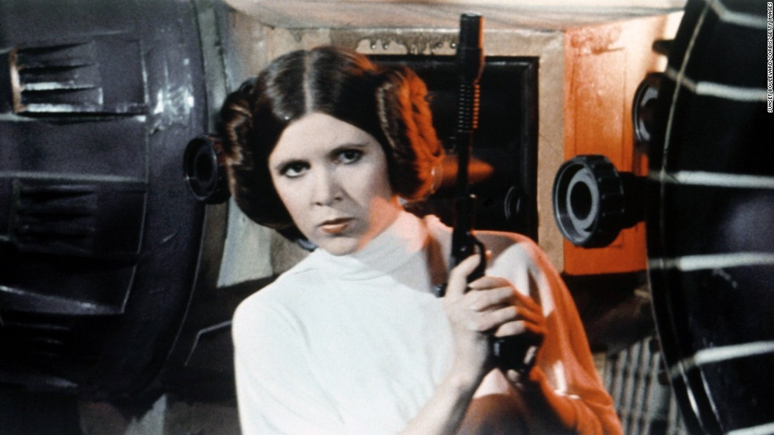 Carrie Fisher-starring films outside the