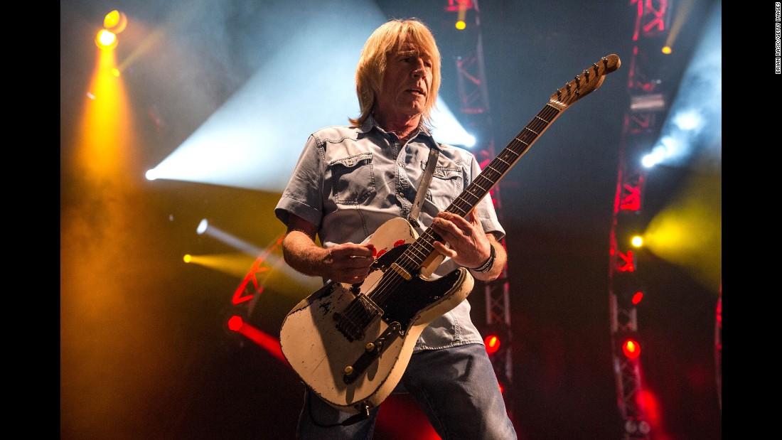 Rick Parfitt, Status Quo Guitarist, Dies At 68