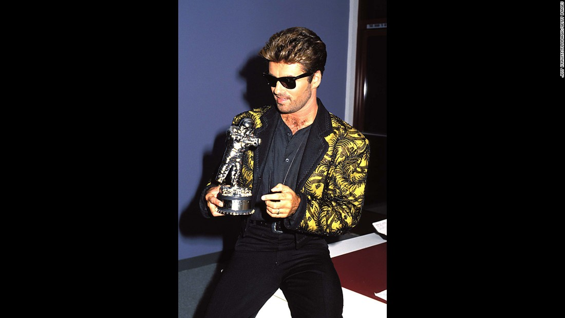 Michael at the 1989 MTV Video Music Awards in Los Angeles.