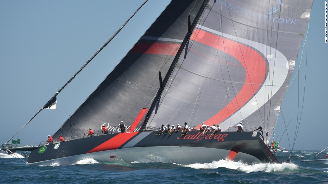 Hong Kong entry Scallywag -- a revamped version of the boat with which Bell won the 2011 race as Investec Loyal -- was one of four 100-foot supermaxi yachts in the race. It crossed the line third.