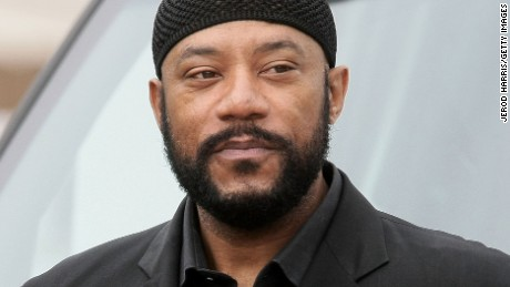 LONG BEACH, CA - MARCH 26:  Actor Ricky Harris arrives at Nate Dogg aka Nathaniel Dwayne Hale Funeral Service on March 26, 2011 in Long Beach, California.  (Photo by Jerod Harris/Getty Images)