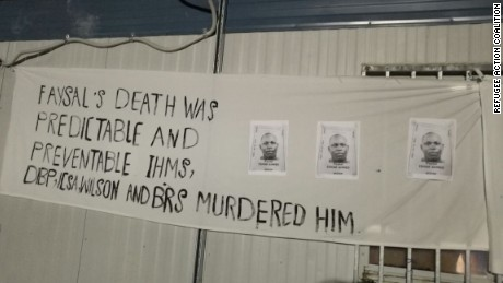 Manus Island detainees blame Australia for death of young refugee