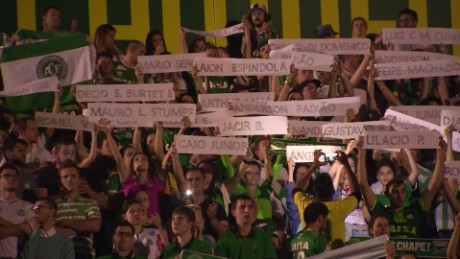 Chapecoense crash: 'A national disaster'