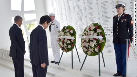 Abe first Japan PM to visit USS Arizona Memorial