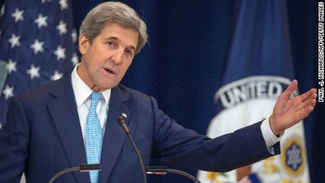 Secretary of State John Kerry: Two-state solution in 'serious jeopardy'