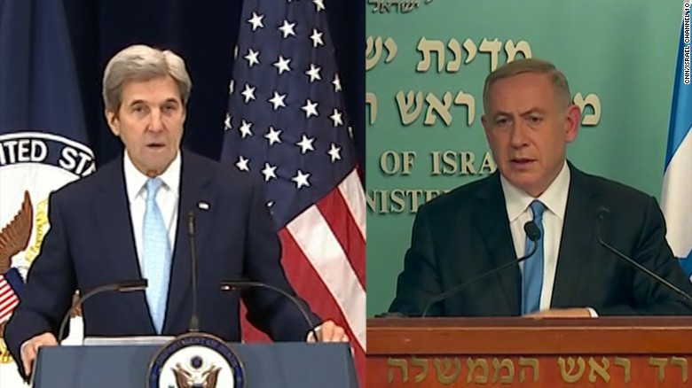 Back-to-back speeches from the US and Israel.