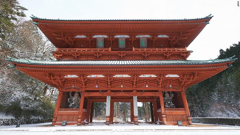 Koyasan's Daimon Gate.